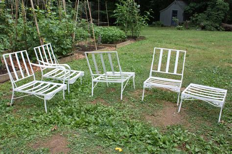Vintage Patio Furniture Let S Face The Music Retro Patio Set
