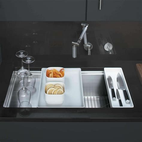 kohler stainless steel sink kohler stages 3760 stainless steel sink kitchen sinks