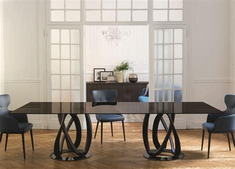 White Armchairs Porada Infinity Rectangular Dining Table Porada