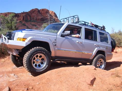 jeep commander lifted lifted jeep commander lift kits for the jeep commander