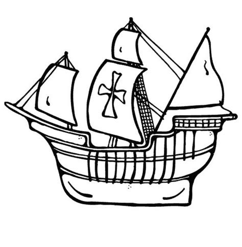 outline of boat sailboat outline page coloring pages