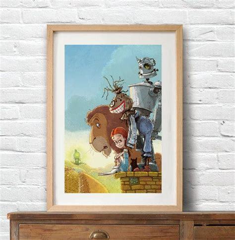 Wizard Of Oz Home Decor 14 Best Ideas About My Artwork On Kid Decor Emerald City And Poster Wall