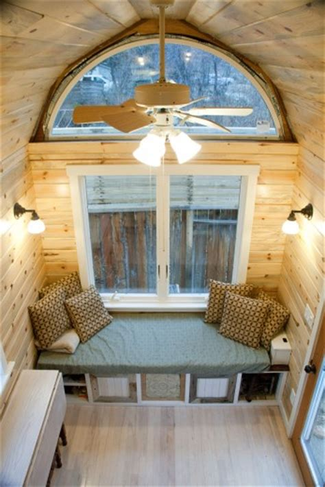 tiny house seating tiny house for sale mitchell s from small is beautiful