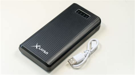 Power Bank Im Xlayer Carbon Black 20 000mah Powerbank Im Test Techtest