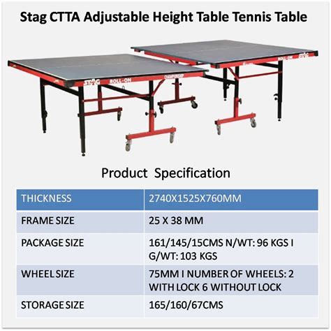 ping pong table height ping pong table adjustable height decorative table