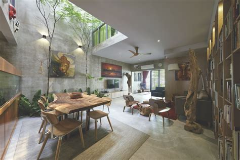 home courtyard traditional courtyard house reinvented in malaysia