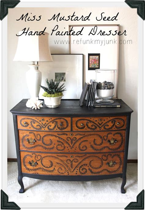 hand painted furniture ideas best 25 hand painted dressers ideas on pinterest