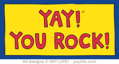 Home Interior Blog by Yay You Rock Magnet Yay Life