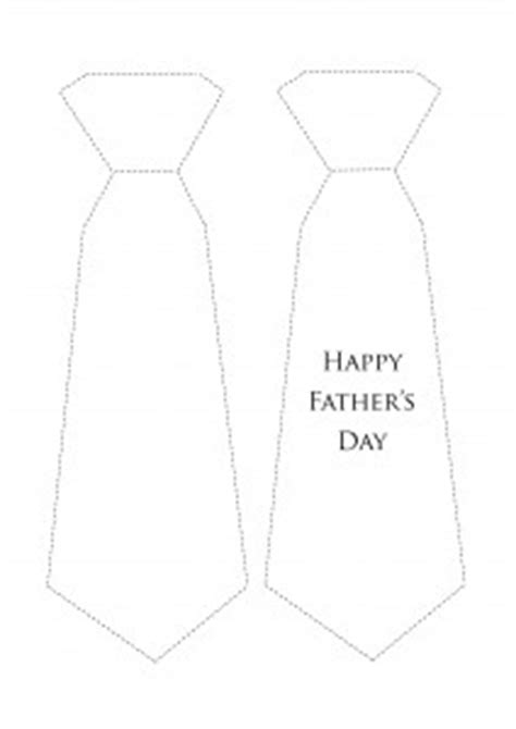 s day tie card template s day card tie printable be a