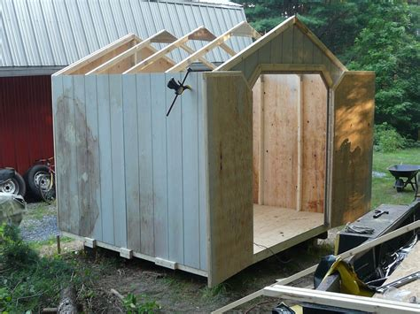 How To Build An 8x8 Shed by Shed 1