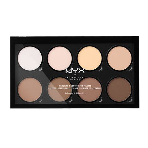 Nicka Contour Kit Palette Hilight Contour Makeup highlight contour pro palette nyx cosmetics