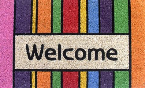 welcome mat colorful welcome mat picture images photos pictures