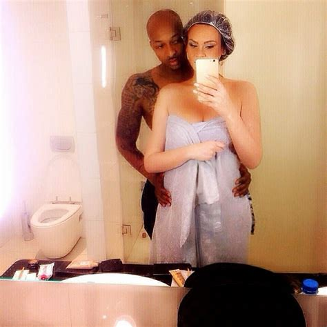 with wife in bathroom oops ik ogbonna takes sexy bathroom pic with his side