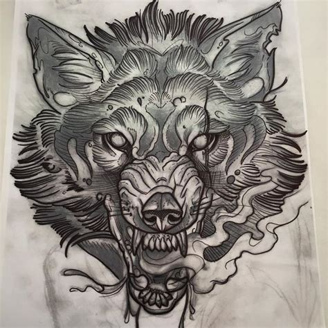 tattoo flash wolf 209 best 176 new school 176 images on pinterest tattoo designs