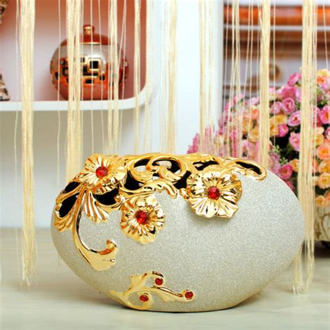 Handcraft Flower - ornament handicraft flower craft ceramic vase in jinhua