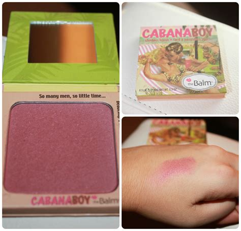 The Balm The Boy Blush beautybyt the balm blushes review swatches