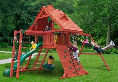 swing set clearance sale lowest price gorilla sun palace ii playset free shipping