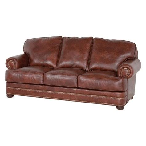 classic leather sofas classic leather mcguire sofa 553 mcguire leather sofa