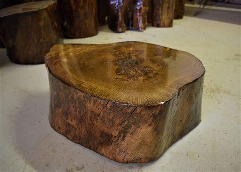 Wood Stump Table by Tree Stump Table Stump Table Tree Stump Tree Stump End