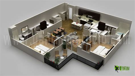 3d House Layout Design | 3d floor plan design interactive 3d floor plan yantram