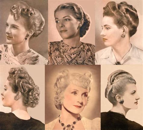 1940 back sides hair styles hairstyles throughout the ages 20th century girlsaskguys