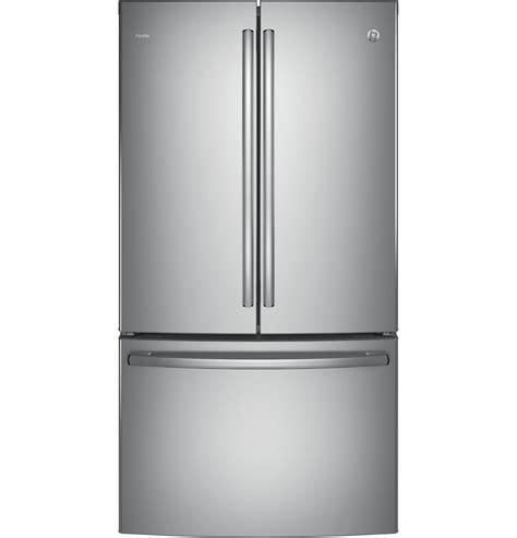 Gea M Rw6t2hh Stainless Steel Counter Chiller Maskitchen ge profile series energy 174 23 1 cu ft counter depth door refrigerator pwe23kskss
