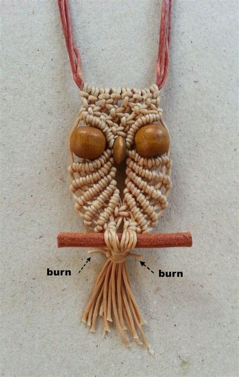 Free Micro Macrame Patterns - 17 best images about macrame owl on the 70s