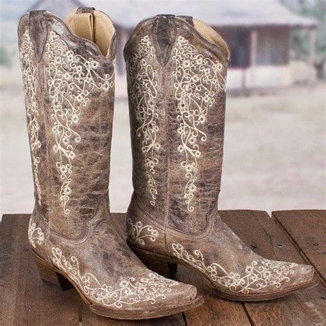 corral distressed brown crater bone embroidery snip toe boots a1094 embroidery brown