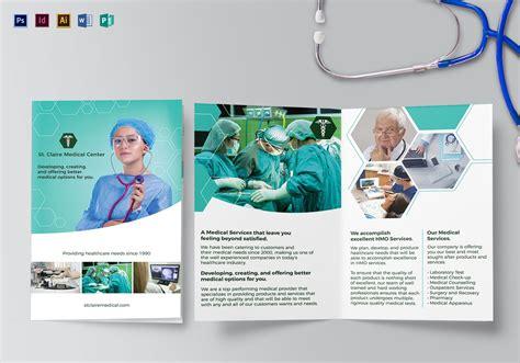 Medical Bi Fold Brochure Design Template In Psd Word Publisher Illustrator Indesign Assistant Brochure Templates