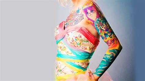 lisa frank tattoos top 9 themed ideas part 3