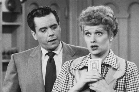 lucille ball and ricky ricardo i love lucy