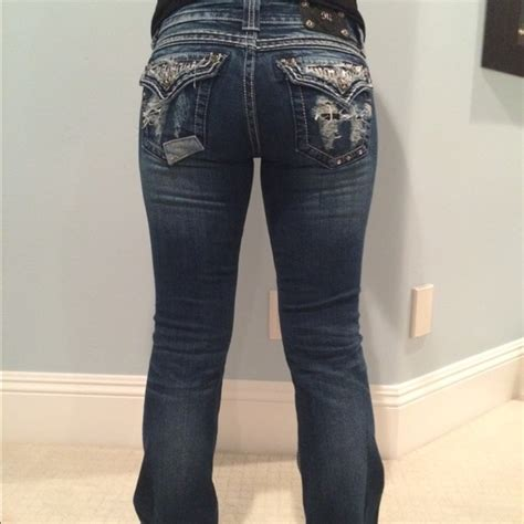bootcut jeans for work 50 off miss me denim on sale miss me patch work