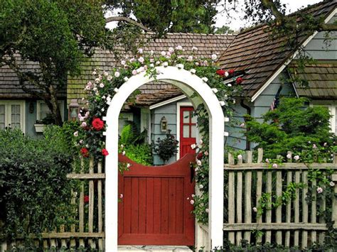 Garden Gate Trellis Garden Arbor With Gate Autumn Weddings Pics