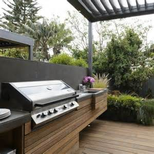 Backyard Built In Bbq Ideas Bbq Area Design Ideas For Summer Outdoortheme