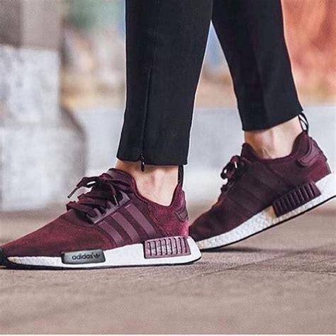 Adidas Nmd Purple Burgundy adidas nmd r1 suede w burgundy maroon