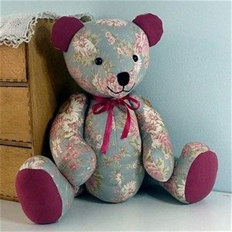 how to make a memory bear hidden treasure crafts and memory bears from clothing pattern just b cause