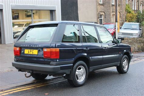 1998 range rover for sale used 1998 land rover range rover 2 5 td dt 5dr for sale in