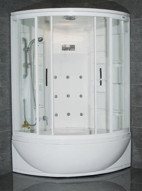 shower bath unit ameristeam zaa212 steam shower unit with bathtub modern steam showers los angeles by