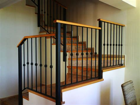 barandillas de hierro para escaleras barandas de hierro barandilla de hierro con pasamanos de