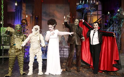 halloween show themes it s a halloween quot monster mash up quot the talk cbs com