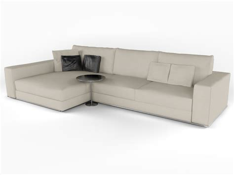 couch to 3k minotti hamilton 3d model max cgtrader com