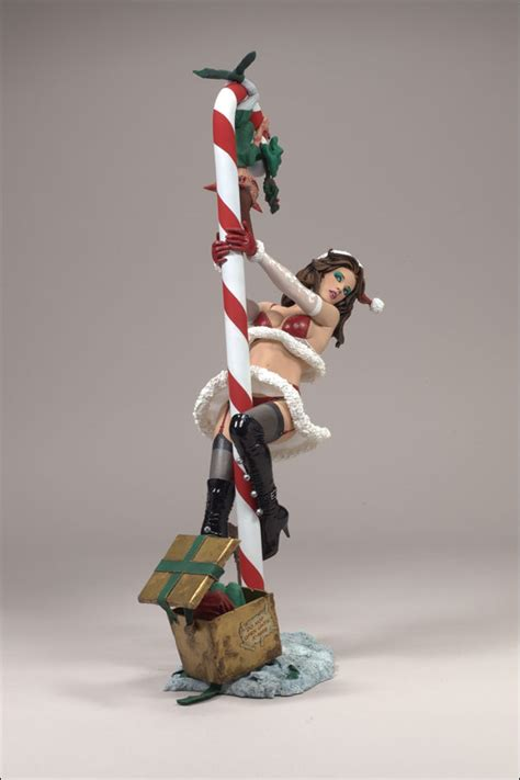 Mrs Claus Twisted X mcfarlane s monsters series 5 twisted x calendar