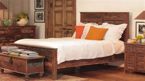 reclaimed wood bedroom furniture at the galleria