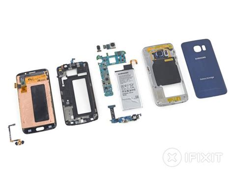 samsung galaxy  edge teardown ifixit