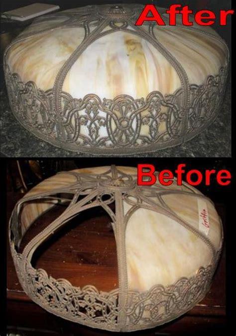 Slag Glass L Shade Repair by Slag L Repair Slag Shade Repair