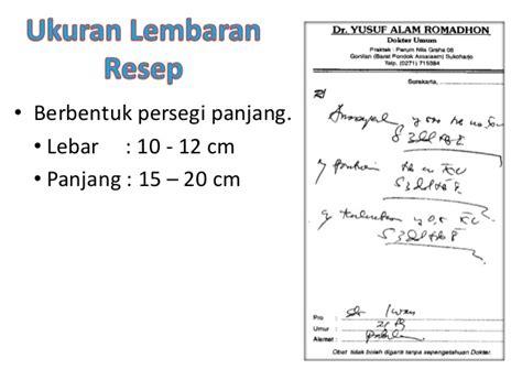 template kartu nama dokter gigi pengenalan resep