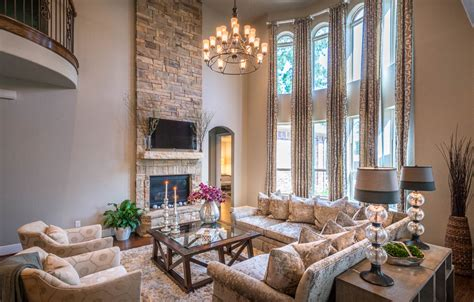 Transitional Tuscan House Designs Transitional House Transitional Living Room Design