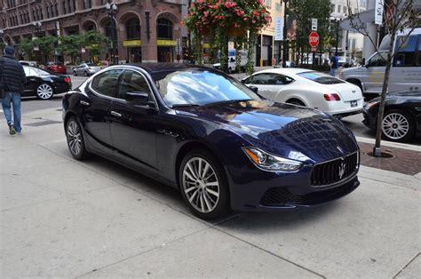 Maserati Ghibli Dealer by 2015 Maserati Ghibli Stock M370 For Sale Near Chicago