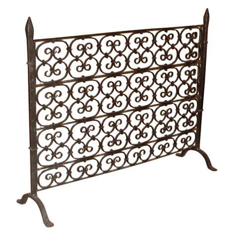 iron fireplace screen rl sr fl 13