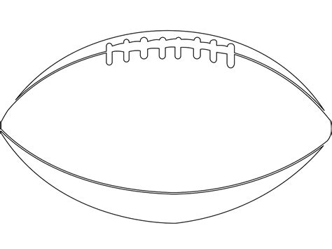 football ball silhouette vector american football ball silhouette free vector silhouettes